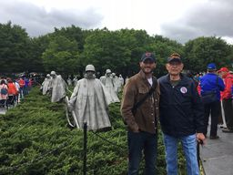 Seacrest Tech Teacher Travels with Collier County Honor Flight